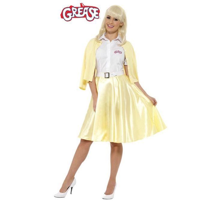 Disfraz de Good Sandy de Grease para mujer. Una fiesta temática de Grease, para carnaval o disfraces en grupo en verano. ¡Todo vale!