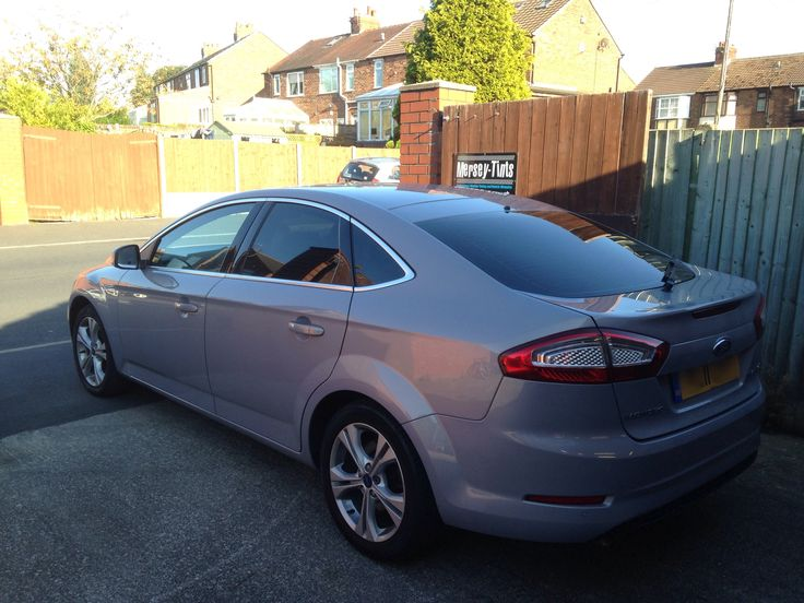 2011 Ford Mondeo also in today for 5% carbon (limo) tints to the rear sides and 18% to the rear screen for added comfort and privacy.