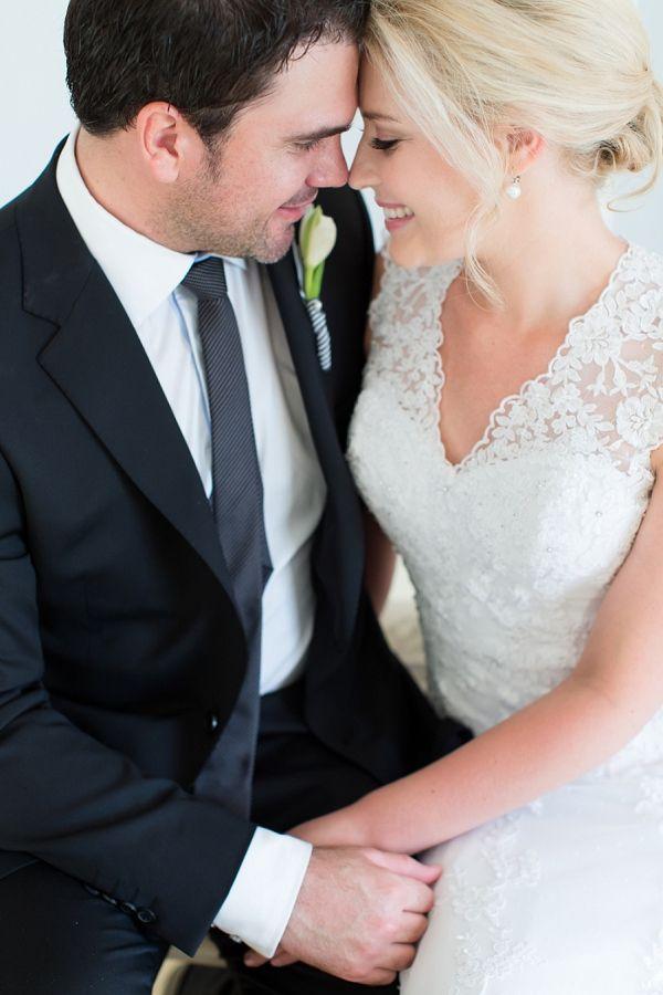 Romantic Monochrome Wedding // Photographer: Catherine Mac // Dress: Lady Marmalaide // Groomswear: Zed Menswear // Florist: Nconcepts & Designs // Cake: The Birdcage // Stationery: Sugarbird Creative // Hair & Makeup: Marli Basson // Venue: Tanglewood, Wellington // Catering: Vanilla Ice Catering  // Music: Werner Denner // Video: Storyboard Productions // Planner & Stylist: Izandi Serdyn