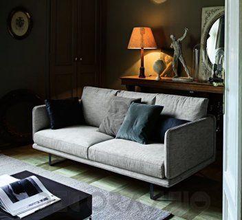 RAIL Fabric Sofa By Arketipo Design Studio Memo