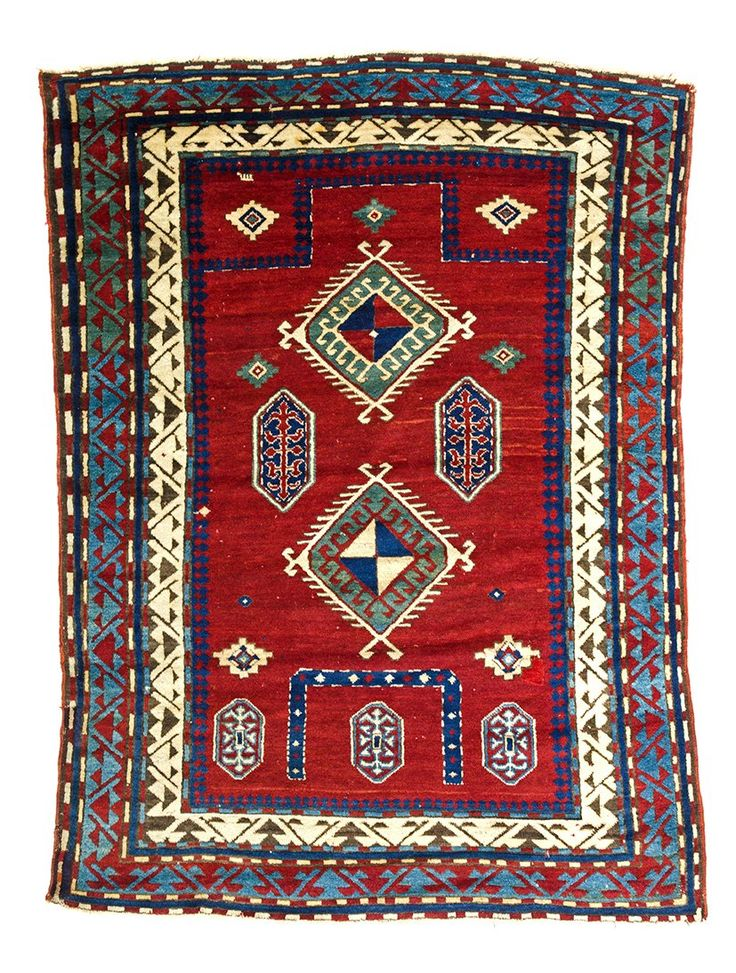 Lot Borjalu Kazak Prayer Rug Number Starting Bid Auctioneer Austria Auction Company Fine Antique Oriental Rugs Iii Date September 2016