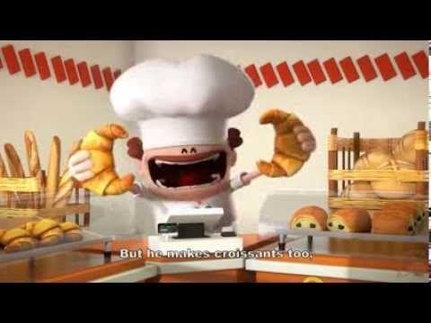 4 courtes animations amusantes sur les métiers (voix en français et sous-titres en anglais) : le boulanger, l'avocate, la psychanalyste, la chirurgienne.