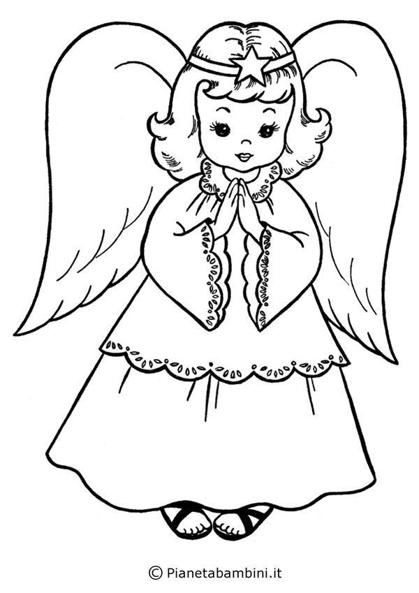 Disegni di angeli custodi per bambini no63 regardsdefemmes for Figure di angeli da stampare