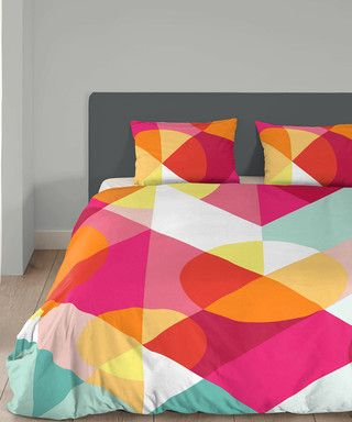Coco Geometric cotton double duvet set Sale - Good morning Sale