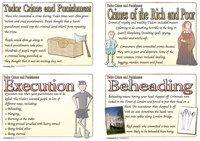 Tudor Crime and Punishment Cards