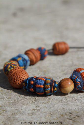 Колье, бусы ручной работы. Ярмарка Мастеров - ручная работа Бусы Марокко. Handmade.