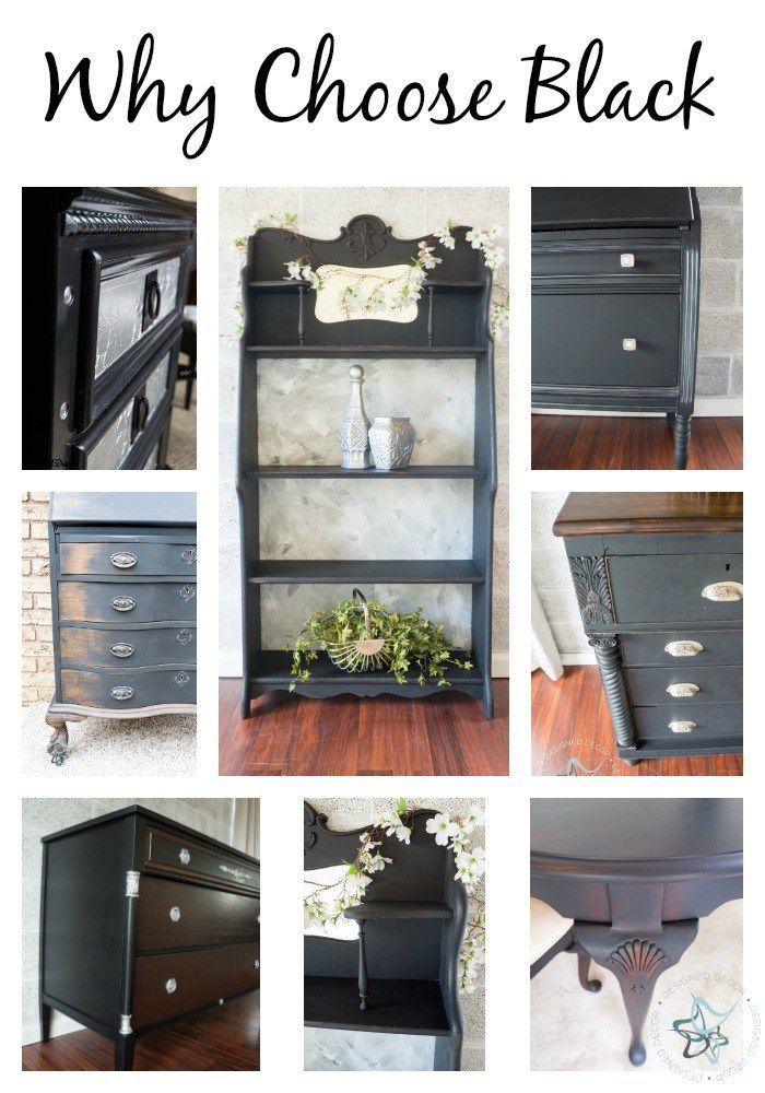 Let Me Share How Black Paint Can Make A Simple Update To Furniture Is Clean Clic And Never Goes Out Of Style By Dede Bailey