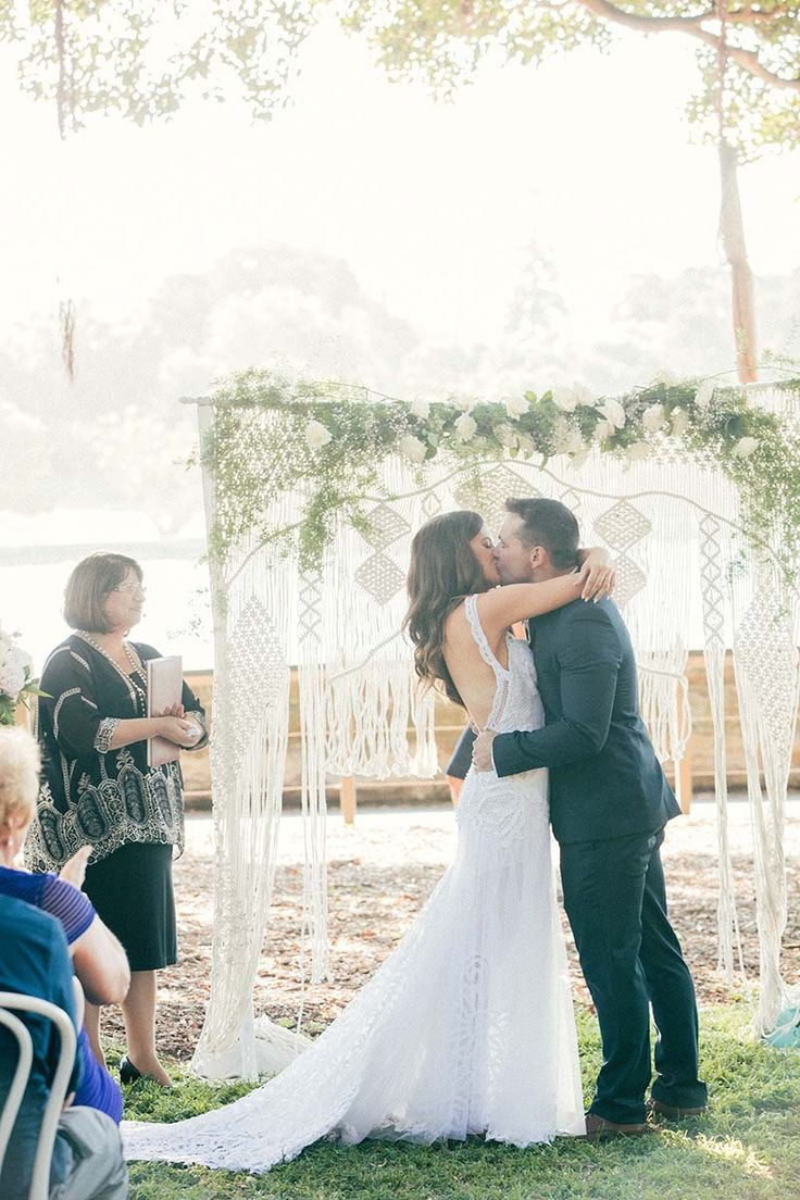 """Say """"I Do"""" in front of our stunning wedding arch, hire and commission available - www.emilialorena.com.au"""