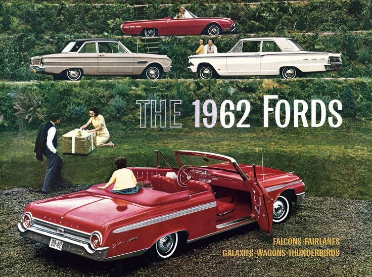 1962 Fords #classiccars #CTauto