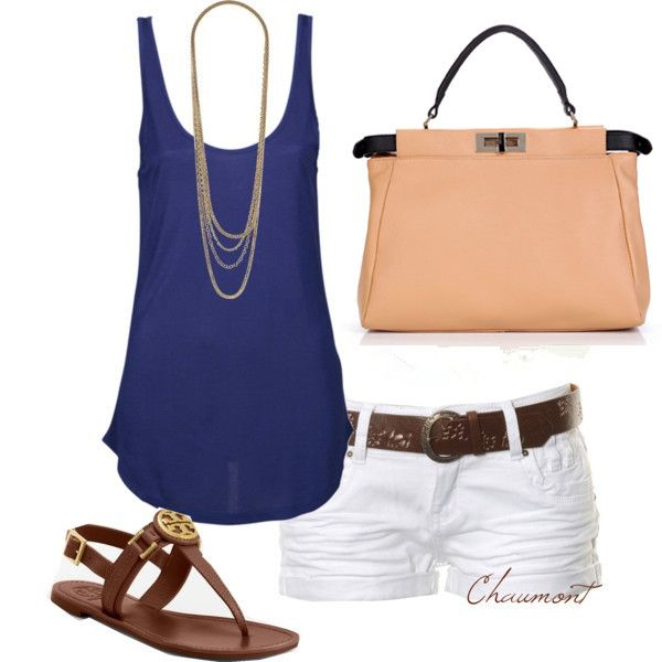 Cool beach outfit