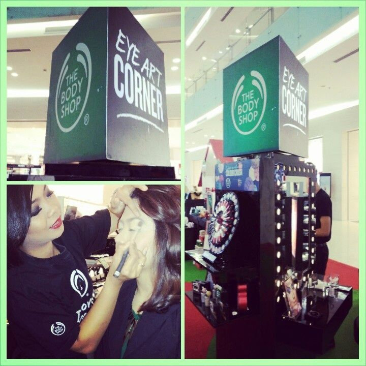 #MC #Makeover #Smokey Eyes #ColourCrushID @The Body Shop Indonesia @CiputraWorldSBY