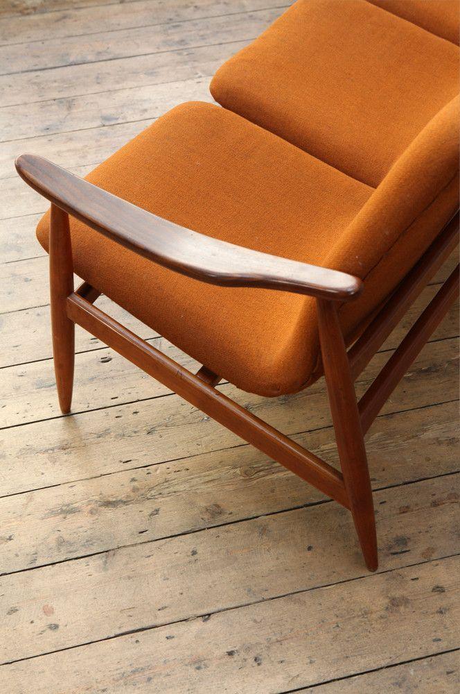 Louis Van Teeffelen Three Seater Sofa – Forest London