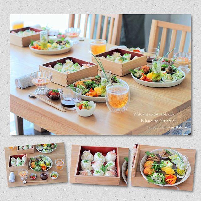 セーラちゃん@se_ra0227 mokoさん@mokotto_moko とのお楽しみ会最大のお楽しみは持ち寄りランチ꒰ˊૢᵕˋૢෆ꒱ 今回は素麺パーリィー꒰๑•‧̮ૣ•ૣ๑꒱*・.。 野菜たっぷりの目にも心にも嬉しいランチ꒰ˊૢᵕˋૢෆ꒱  素麺を重箱に入れようってセーラちゃんのオシャレセンスに全てを委ねて꒰ノ∀`̤♡꒱ෆ⃛*✲*。⋆ 幸せすぎた . . . #あいmokoセーラのお楽しみ会  #素麺 #ランチ #lin_stagrammer  #locari  #KURASHIRU  #instafood  #igersjp  #クッキングラム  #クッキングラムアンバサダー #重箱
