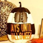 Countdown Pumpkin