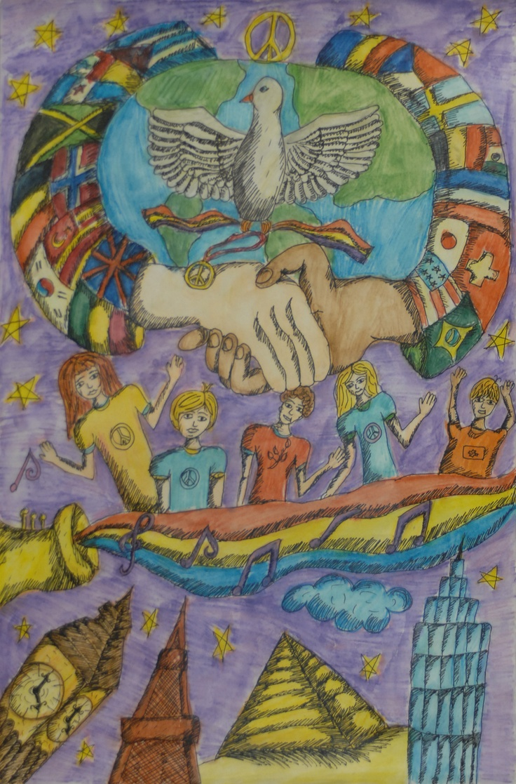 Finalist from Romania: Lions Clubs International 2012-2013 Peace Poster Contest