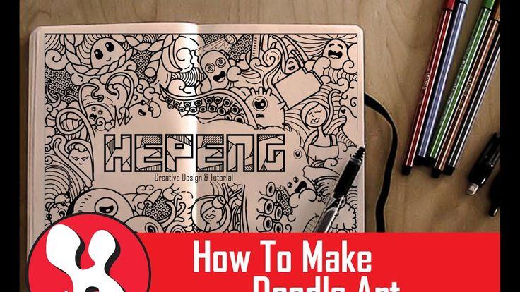 Cara Mudah Mebuat Doodle Art [Tutorial Photoshop]