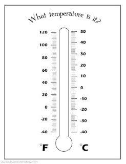 Weather and Temperature Printable