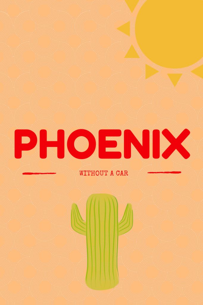 Want to visit Phoenix and not rent a car? You can visit Phoenix and enjoy yourself by using the light rail! @sunburntsaver