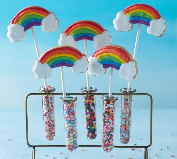 Rainbow Biscuits Photo: Danielle Wood Mima Sinclair