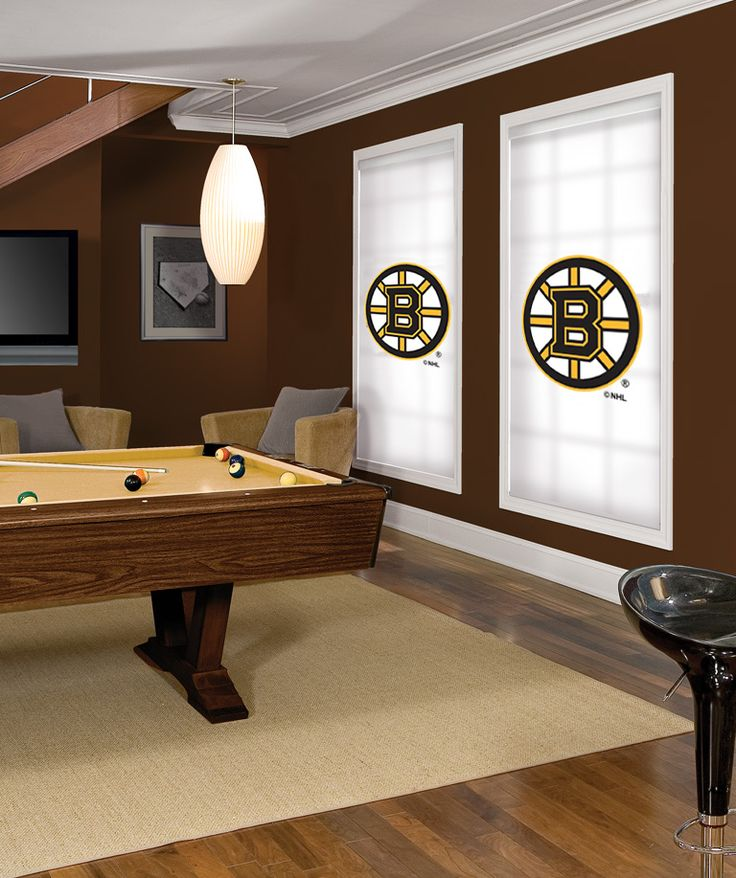 Boston bruins nhl roller shade every nhl team available for Bruins bedroom ideas