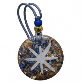 Orgonite pendant with lapis lazuli - the stone of truth