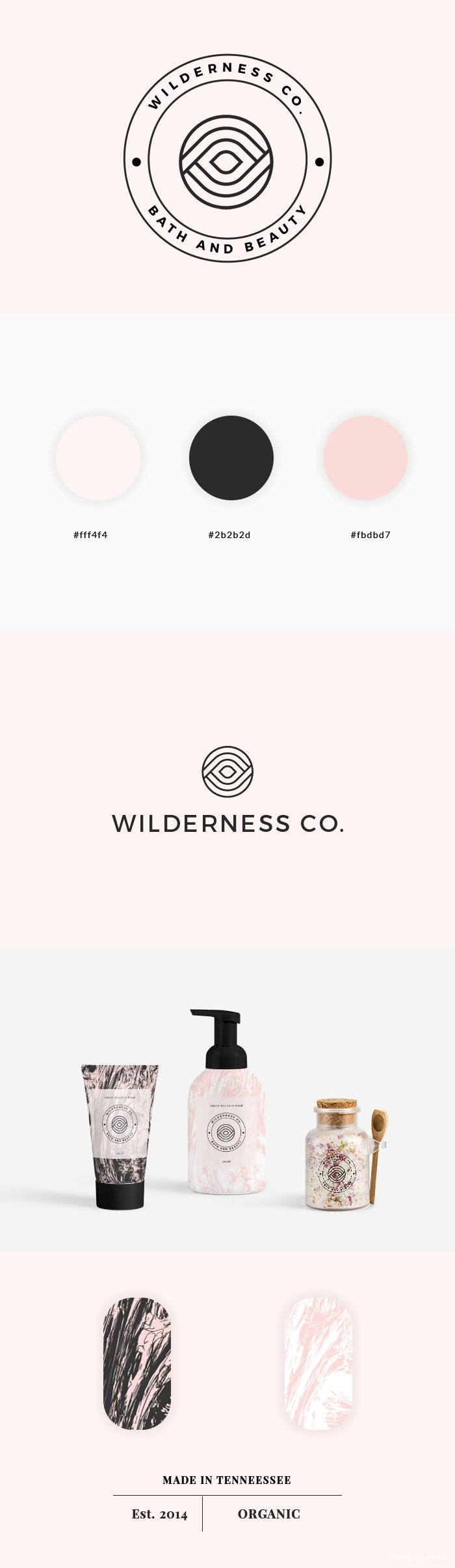 wilderness beauty branding by smuug