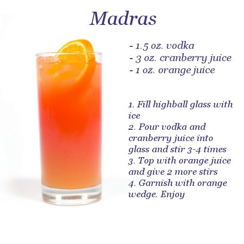 Madras Drink (thank you for the suggestion, Jill)