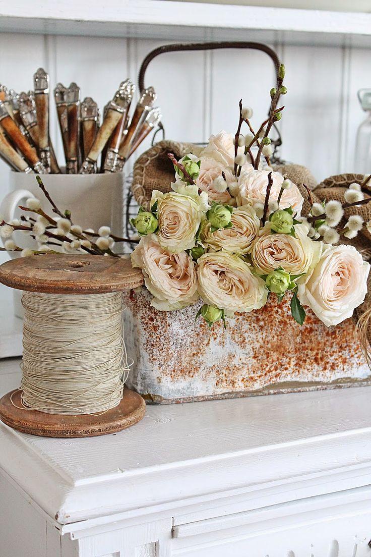VIBEKE DESIGN: Sart, romantic and rustic ...