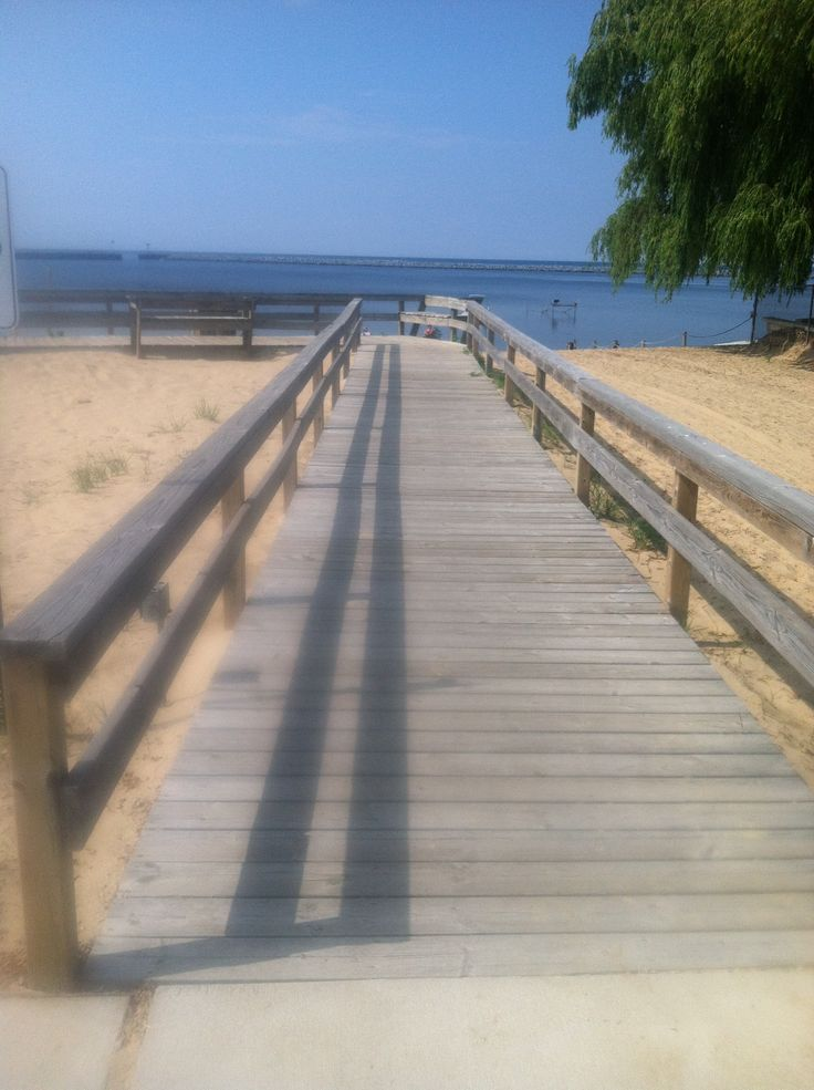 Boardwalk at Port Austin, Michigan