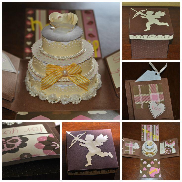 explosion wedding box!  biglietto portasoldi matrimonio.