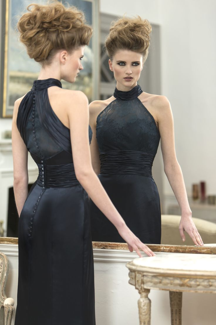 65 best l u n a b r i d e s m a i d s images on pinterest francesca slim and slinky bridesmaid dress with stunning lace halterneck detail pleated waistband and ombrellifo Images