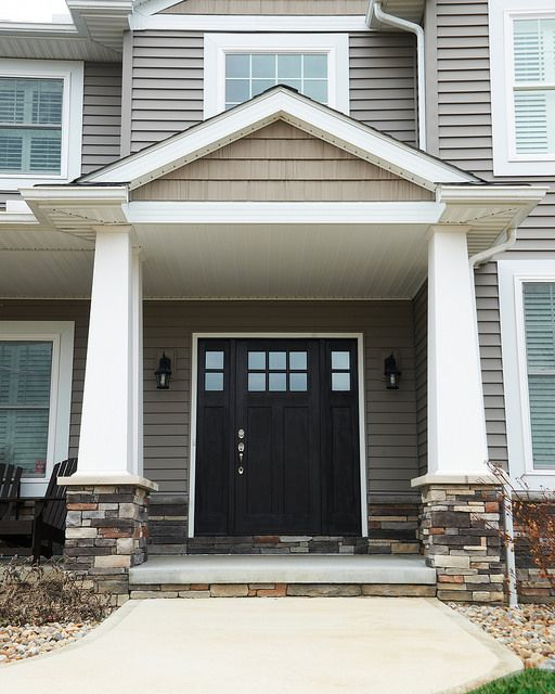 Exterior Siding Accent Ideas: Annapolis With Craftsman Elevation