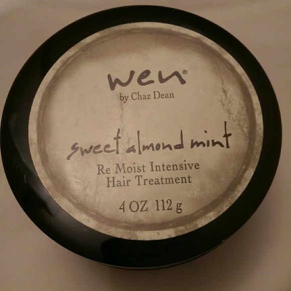 Wen hair treatment Wen sweet almond mint intensive hair treatment. New condition. LIGHTLY used. wen Other