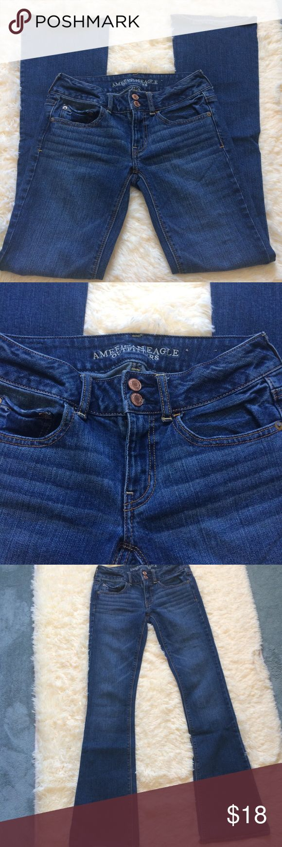 AE  Artist Stretch Jeans Perfect condition!!    33.5 inseam American Eagle Outfitters Jeans Flare & Wide Leg