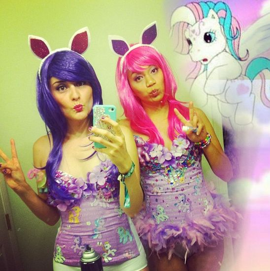 129 best fancy made diy costumes images on pinterest costume edc costume day three my little pony i channeled my inner 80s kid for diy solutioingenieria Gallery