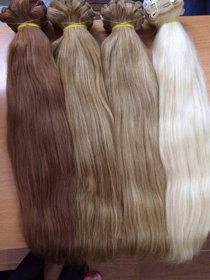 VIETNAM HAIR MACHINE WEFT STRAIGHT COLOR HAIR – #C…