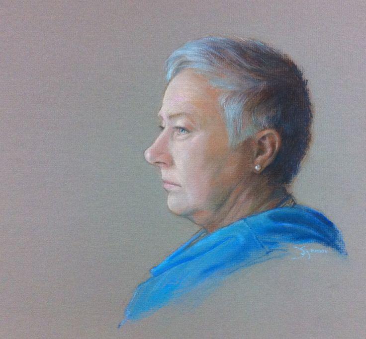 Linda pastel 11x14