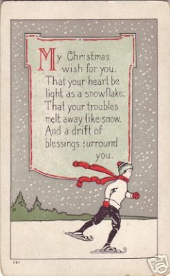 vintage card - don't think its cross stitch or embroidered, but I like the sentiment.