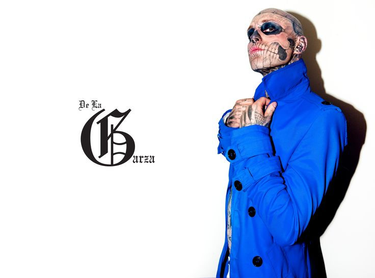 Warsaw May 2011/ mens fashion/ De La Garza/ zombie boy/ Rick Genest