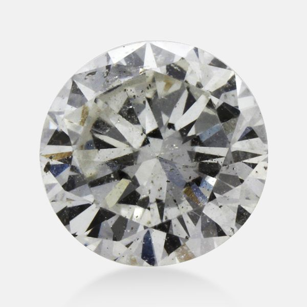 0.36 ct Round G Color I2 Clarity 4.59 mm - 2.65 mm Size earth mine Loose Diamond