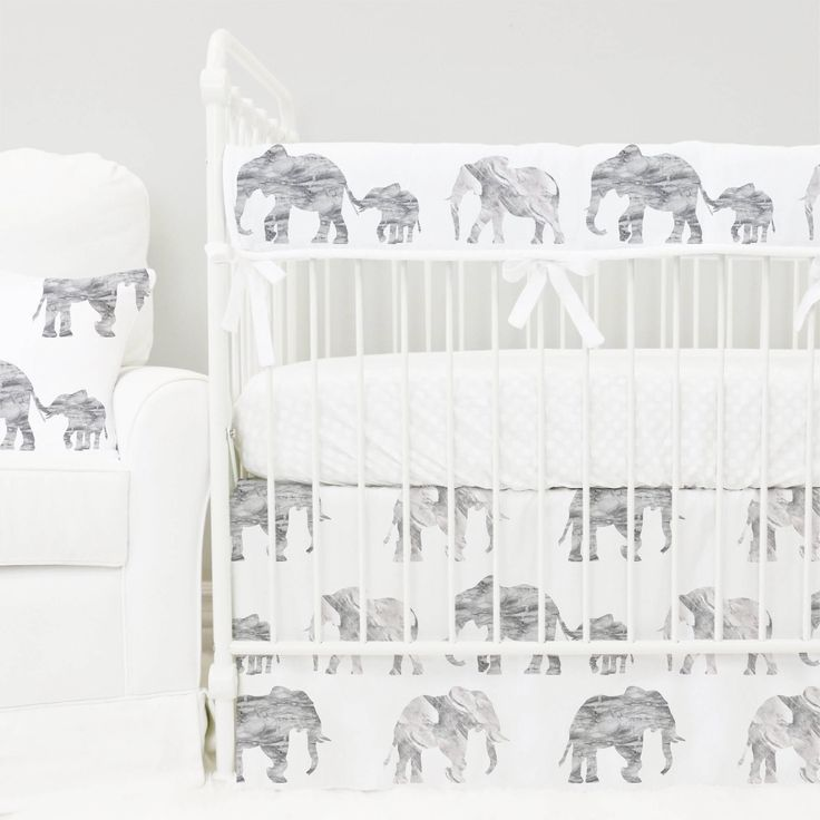 Gray Marble Elephant Parade Bumperless Baby Bedding   Grey, White, Marble, Elephant Gender Neutral Teething Guard Crib Set   Modern Nursery by CadenLaneBabyBedding on Etsy https://www.etsy.com/listing/535671499/gray-marble-elephant-parade-bumperless