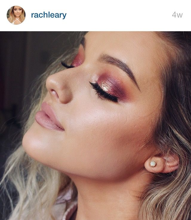 Makeup by Rachel Leary: pink gold