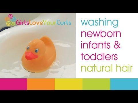 ▶ ♥ 51 ♥ Baby Natural Hair Care: Washing & moisturizing - YouTube