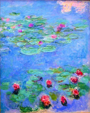 Water Lilies by Monet #art #impressionism                                                                                                                                                     More
