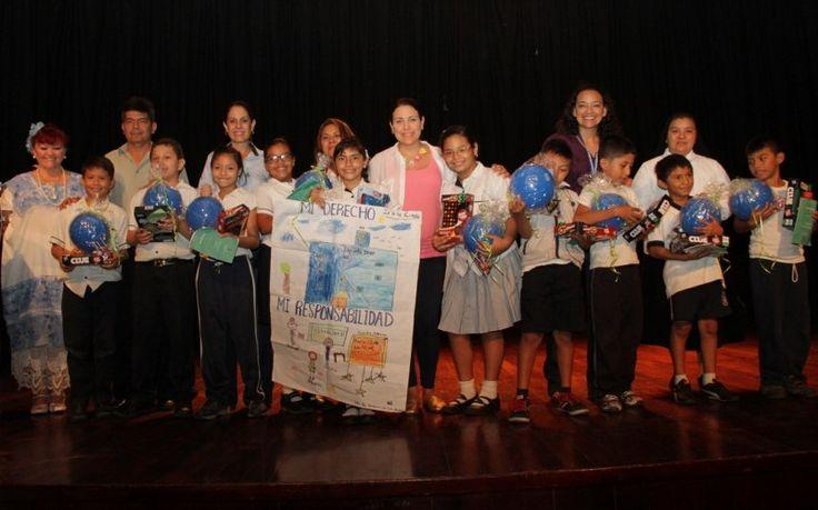 Niños de Mérida recrean sus derechos y responsabilidades