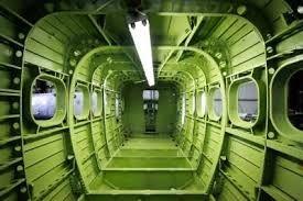 Twin Otter cabin interior #Aviation