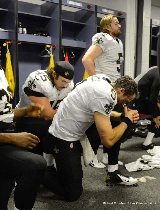 One of the reasons Drew Brees is such a great man.  New Orleans Saints Locker Room: at Falcons