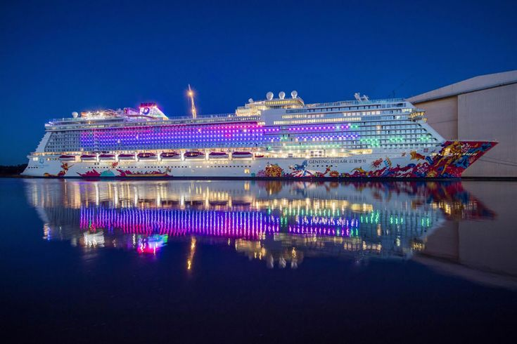 Genting Dream that is set to astound and delight guests with a stunning symphony of spectacular illuminations