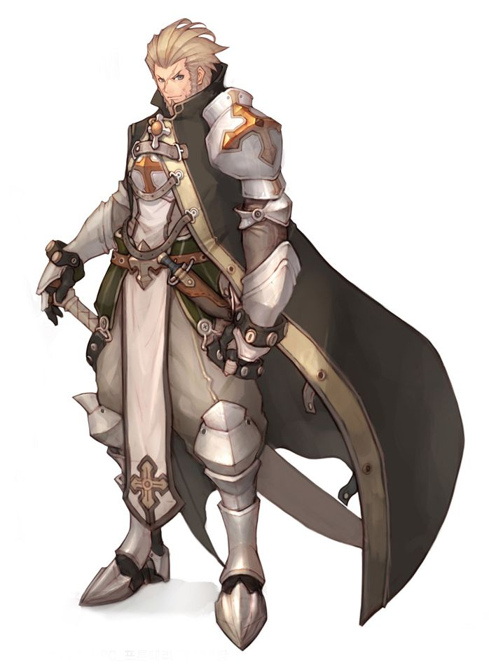 Gallery For gt Anime Male Knight Armor