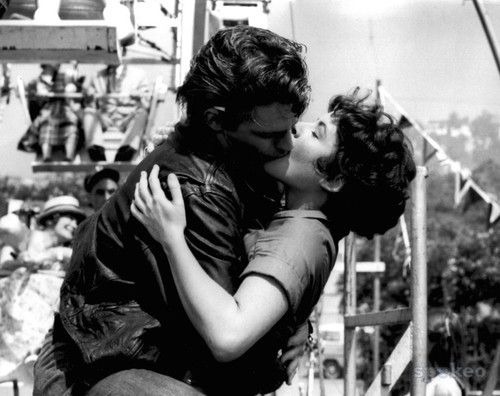"""Rizzo and Kenickie, Grease """"A hickey from Kenickie is like a Hallmark card... When you care enough to send the best ."""" Lol"""